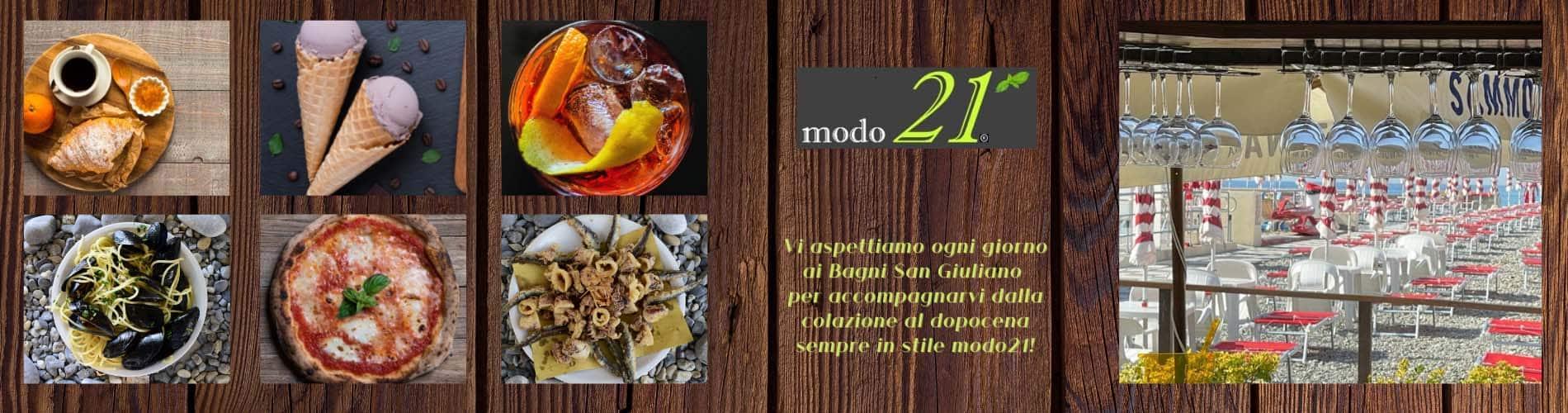 banner ristorante Modo 21